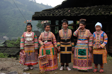 miao people's dressing
